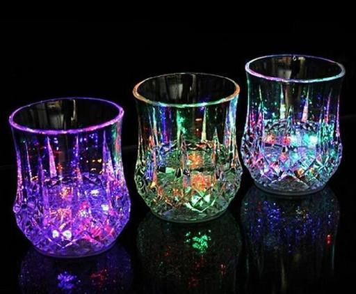 Стакан с подсветкой color cup, Стакан с led подсветкой, Светящаяся рюмка