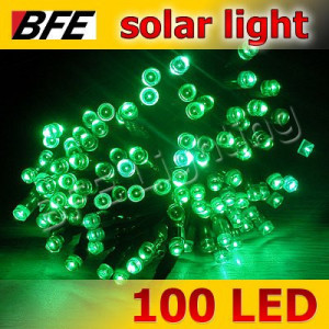 Светодиодные Гирлянды Уличного Освещения String ( нить ) 100 Led-10 м зеленая