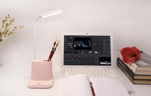 Светодиодная настольная лампа с держателем для телефона multifunctional DESK LAMP