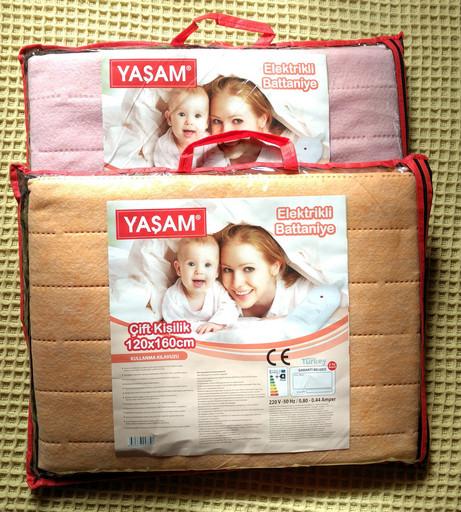 Электропростынь YASAM, 120х160 см, Турция, наличие в Киеве