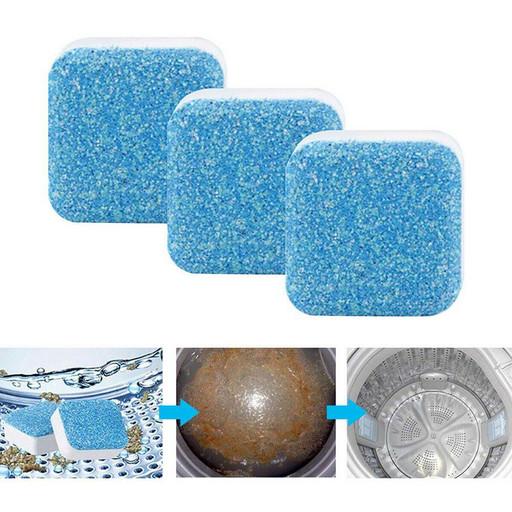 Антибактериальное средство очистки стиральных машин Washing mashine cleaner, 12 штук в упаковке