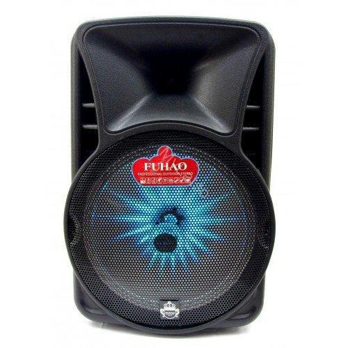 Мощная акустическая система Fuhao FH-A15 переносная колонка-чемодан