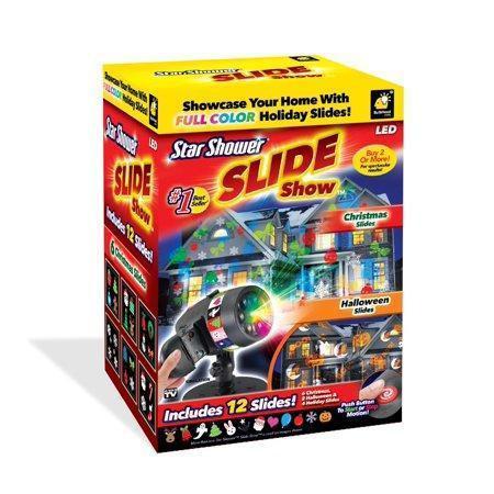 Уличный проектор 'Slide' Star Shower Slide Show - Includes 12 Full