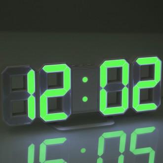 Электронные настольные LED часы с будильником и термометром Caixing CX-2218! Скидка
