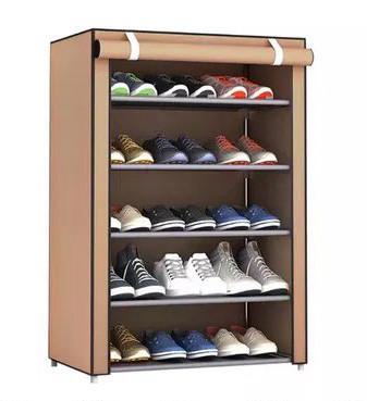 Стеллаж для хранения обуви Combination Shoe Frame 60X30X90 коричневый! Хит продаж