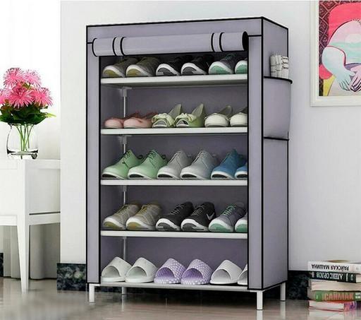 Стеллаж для хранения обуви Combination Shoe Frame 60X30X90 Серый! Лучшая цена