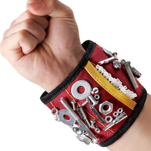 Магнитный браслет для гвоздей и шурупов