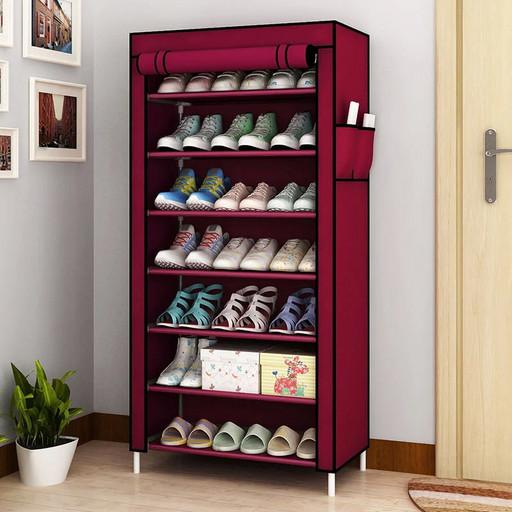 Полка для обуви Shoe Cabinet 9 полок 160X60X30, тканевый стелаж для обуви
