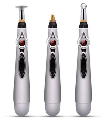 Электронный акупунктурный карандаш - лазерная машинка для иглоукалывания