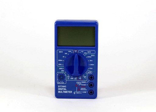 Цифровой мультиметр тестер DT 700C
