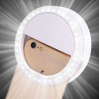 Селфи кольцо  Кольцо с подсветкой  Светодиодное кольцо  Selfie Ring Light