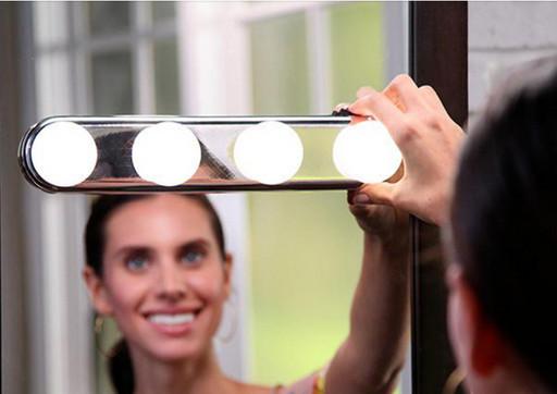 Лампа для нанесения макияжа, LED подсветка на зеркало, Лампа для STUDIO GLOW Make-Up Lighting