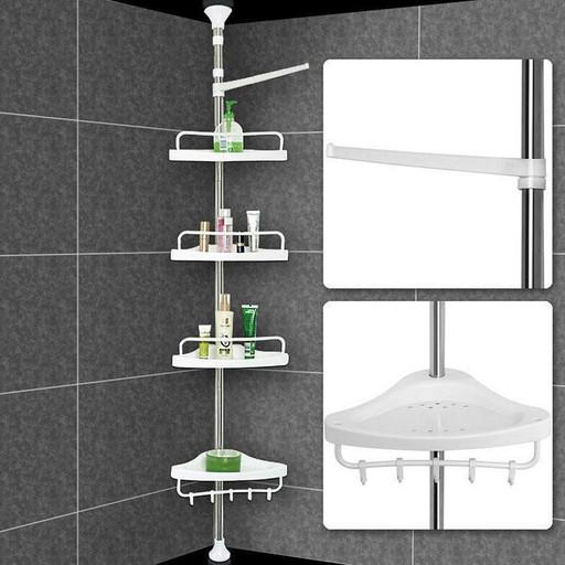 Угловая полка для ванной комнаты Aidesen