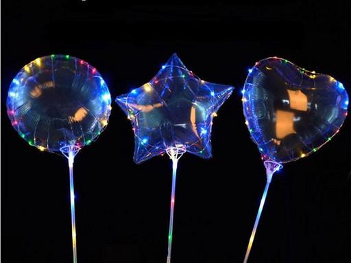 Шары бобо ,светящиеся шарики 24 дюйма