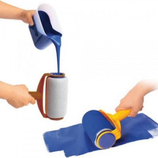 Валик для покраски Pintar Facil с резервуаром с телескопической палки