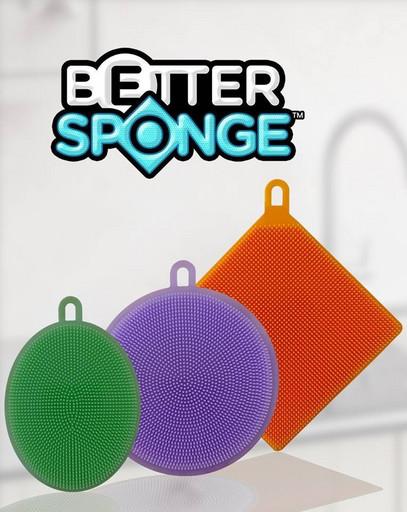 Кухонные силиконовые щетки Better Sponge | губка - спонж для кухни! Акция