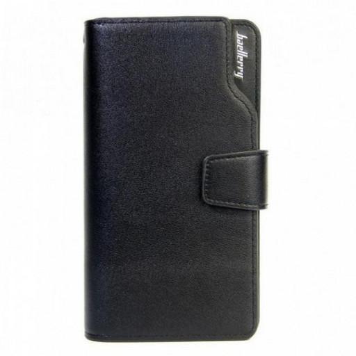 Мужской кошелек клатч портмоне барсетка Baellerry business S1063 Коричневый