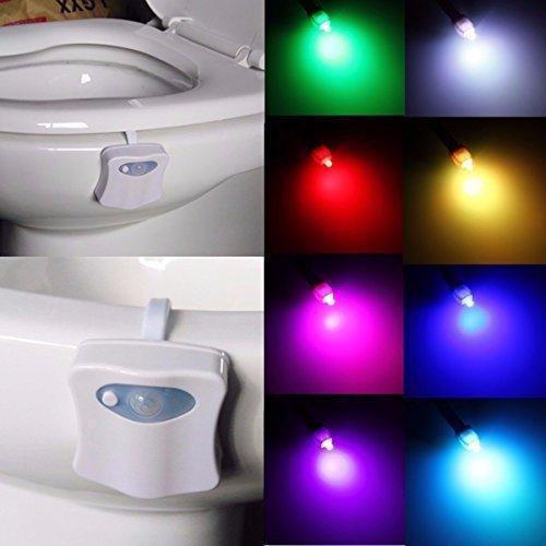 Led подсветка для унитаза с датчиком движения TOILET Light Bowl