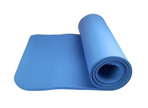 Коврик для йоги и фитнеса Power System PS-4017 FITNESS-YOGA MAT Blue