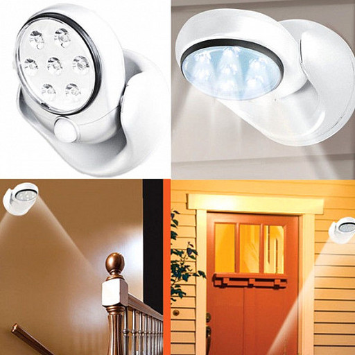 Универсальная подсветка Light Angel, светильник с датчиком движения