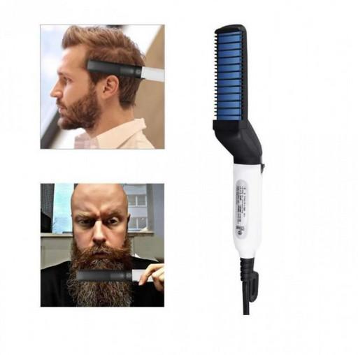 Утюжок-выпрямитель для бороды и волос Modelling Comb For Beaut