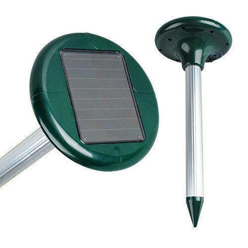 Отпугиватель кротов, грызунов Solar Rodent Repeller на солнечной батарее