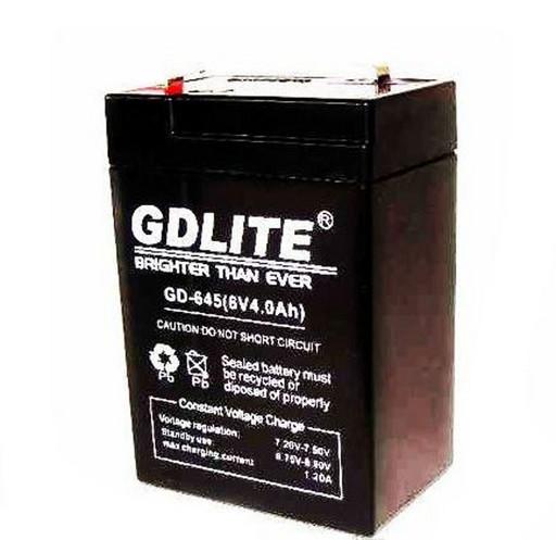 BATTERY GD 645 Аккумулятор 6V 4A