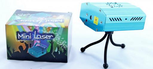 Лазерный прожектор LASER 4in1 Хит продаж!
