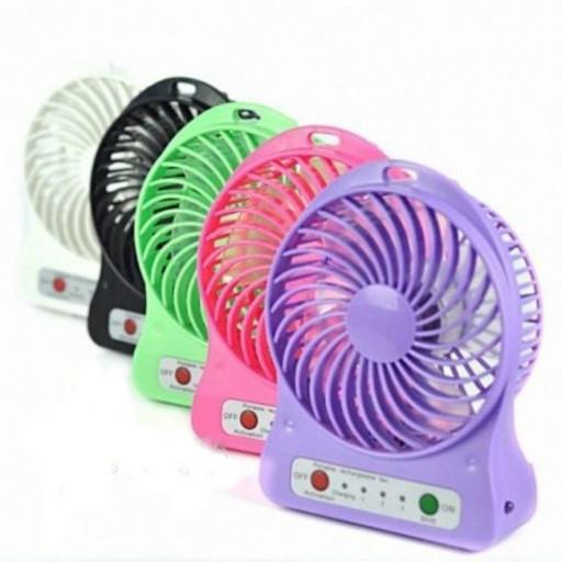 Мини вентилятор Mini Fan XSFS-01 с аккумулятором 18650 Микс цветов
