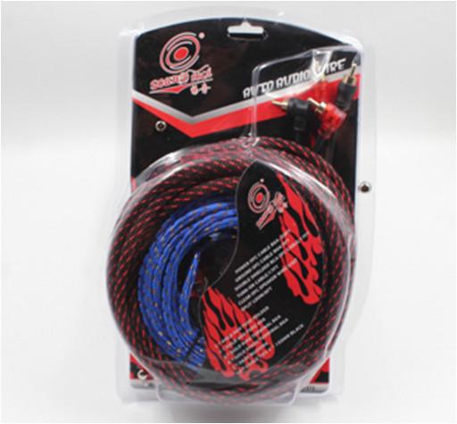 Набор проводов для установки саббуфера KIT BL 361, Комплект проводов для усилителей и сабвуферов в авто