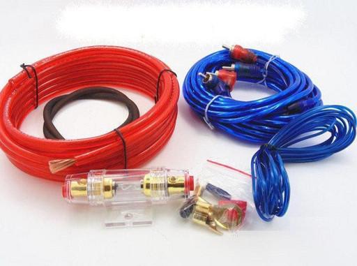 Набор проводов для установки саббуфера kit MD 8