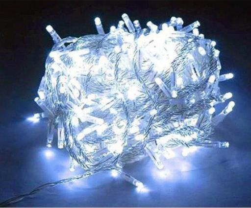 Гирлянда 200 LED 18 м RD-7142 цвет холодный белый силиконовый провод