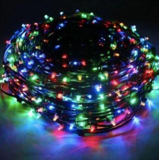 Гирлянда 100 LED RD-7127 9 м цвет микс черный провод