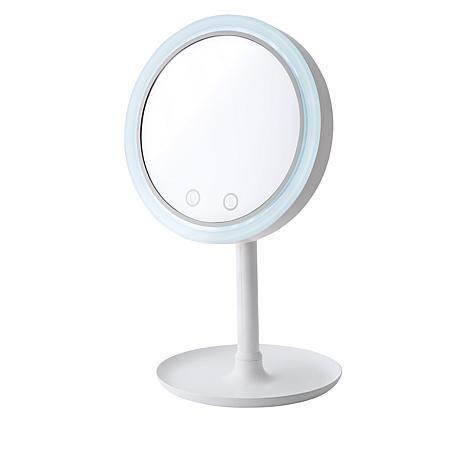 Зеркало для макияжа beauty breeze mirror круглое с подсветкой