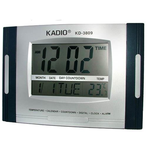 Часы цифровые KK 3809 N для авто и дома.
