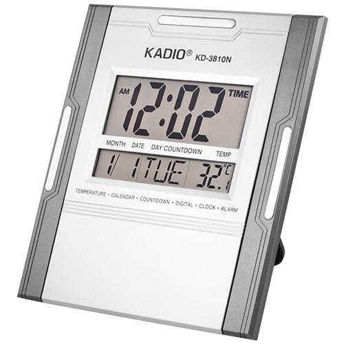 Часы электронные настенные Kadio KD-3810N с функцией 'Соня'