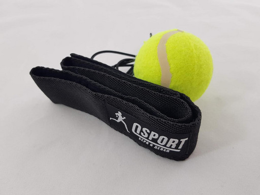 Тренажер fight ball (файт бол) теннисный мячик для бокса на резинке OSPORT Light (fl-0132)
