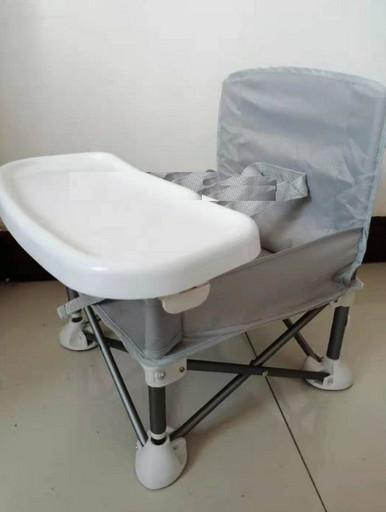 Складной тканевый стул стол для кормления baby seat Розовый, Зеленый, Серый