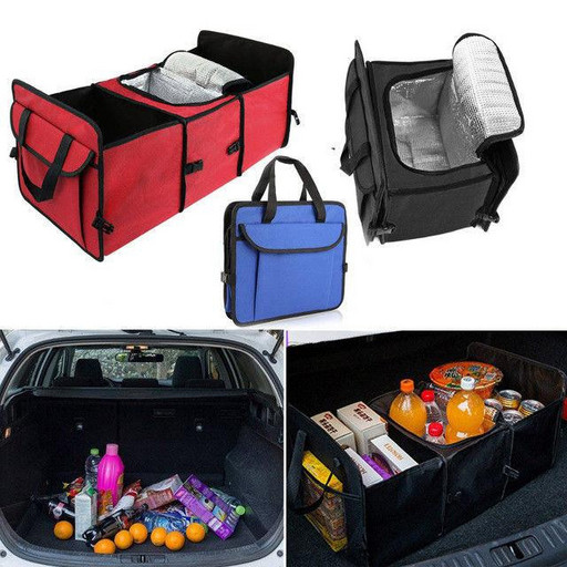 Органайзер холодильник в багажник TRUNK ORGANIZER & COOLER