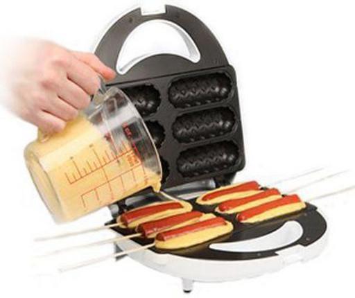 Тостер MS 0880 HOT DOG MAKER, Аппарат для приготовления хот-догов и сосисок на палочке