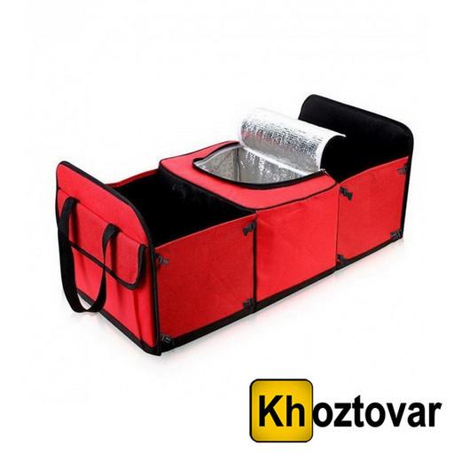 Трехсекционный органайзер-холодильник в багажник автомобиля   Trunk Organizer & Cooler