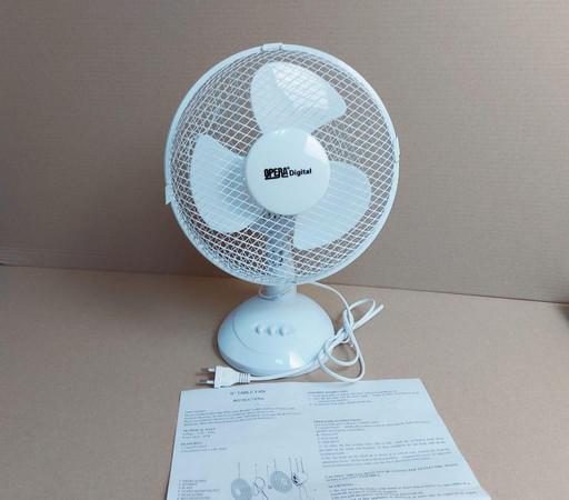 Настольный вентилятор OD-0309 9 дюймов