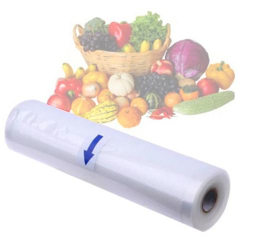 Пакеты для вакууматора Freshpack Pro. Размер 25см х 6м Гофрированная пленка к вакуумному упаковщику