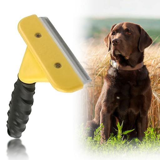 Щетка фурминатор для вычесывания собак и кошек Large L Professional 10,16 см 130749