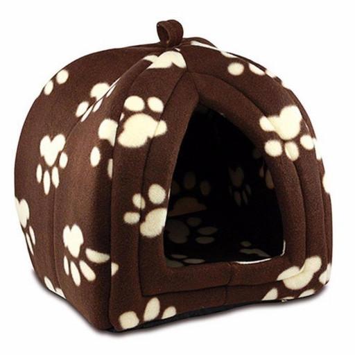 Домик для домашних животных Pet Hut, только коричневый