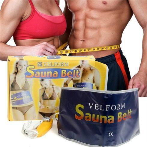 Пояс для похудения Sauna Belt массажер против целлюлита термопояс для похудения Сауна Белт с термоэффектом