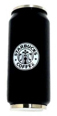 Термокружка 380 мл Starbucks Старбакс термочашка банка чёрная
