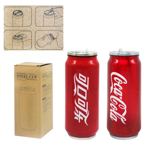 Термос-термокружка Coca-Cola красный