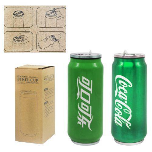 Термос-термокружка 'Coca-Cola' (зеленый) H-195