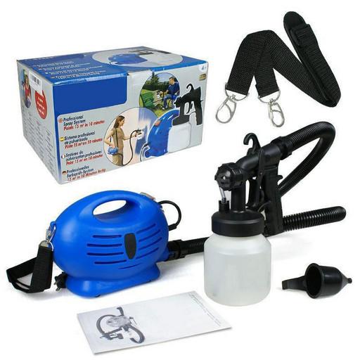 Пульверизатор краскораспылитель Пейнт Зум, краскопульт электрический Paint Zoom, прибор для окрашивания
